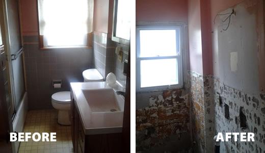 Bathroom Demolition Contractor